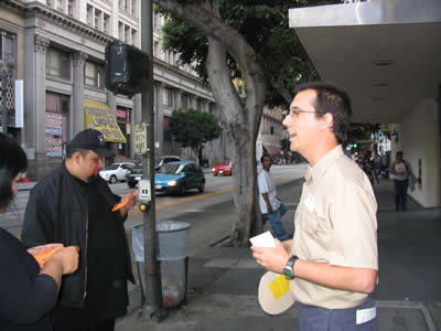 Touring parking in downtown LA